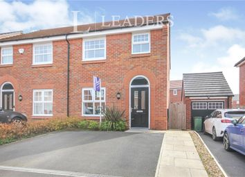 Thumbnail 3 bed semi-detached house for sale in Walker Road, Winnington, Northwich