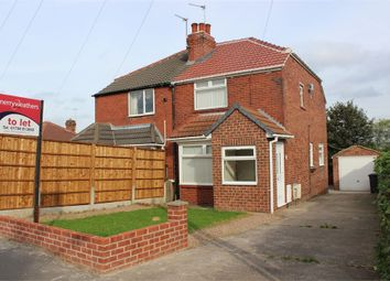 Thumbnail 2 bed semi-detached house to rent in Doncaster Road, Braithwell, Rotherham, South Yorkshire, UK