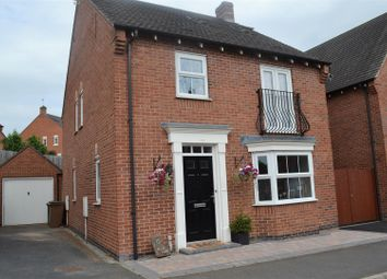 Thumbnail 5 bed detached house for sale in Greenmount Street, Church Gresley, Swadlincote