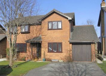 Thumbnail 4 bed detached house to rent in Llys Armon, Lixwm, Holywell