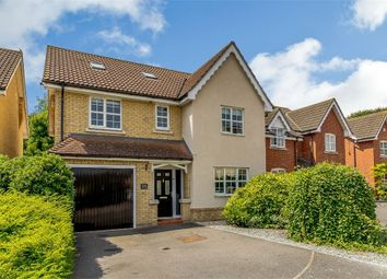 Thumbnail 6 bed detached house for sale in Wren Close, Stowmarket, Suffolk