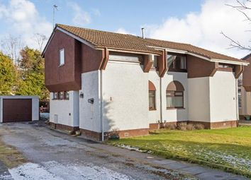 Thumbnail 2 bedroom semi-detached house for sale in Lachlan Crescent, Erskine, Renfrewshire