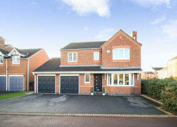 Thumbnail 4 bed detached house for sale in Eaton Drive, Rugeley