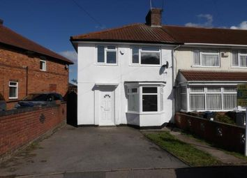 Thumbnail 3 bed end terrace house for sale in Brunton Road, Small Heath, Birmingham, West Midlands