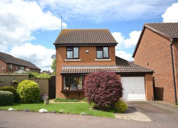 Thumbnail 3 bed detached house for sale in Vincent Close, Duston, Northampton