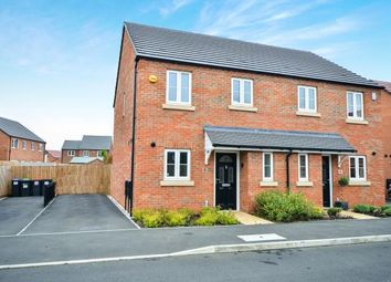 Thumbnail 3 bed semi-detached house for sale in Adams Park Way, Kirkby-In-Ashfield, Nottingham