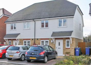 Thumbnail 3 bed semi-detached house for sale in Eveas Drive, Sittingbourne