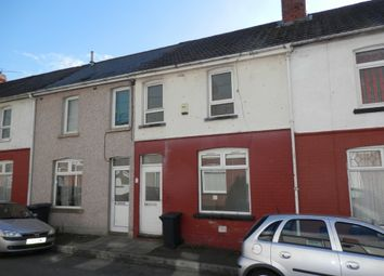 Thumbnail 2 bed terraced house to rent in Rectory Road, Crumlin, Newport