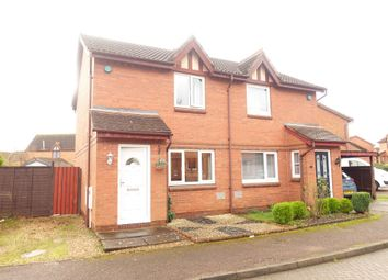 Thumbnail 2 bedroom semi-detached house to rent in Aintree Close, Bletchley, Milton Keynes