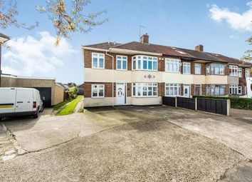 Thumbnail 4 bedroom end terrace house for sale in Rise Park, Romford, Essex