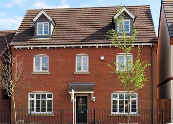 Thumbnail 5 bedroom detached house for sale in Tees Court, Bingham, Nottingham