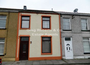 Thumbnail 3 bed terraced house for sale in Woodfield Road, Tredegar, Blaenau Gwent.