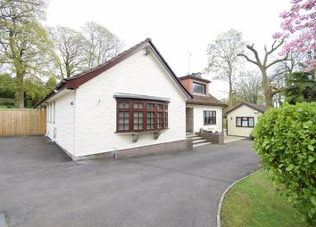 Thumbnail 4 bed detached bungalow for sale in Mill Lane, Llanyravon, Cwmbran