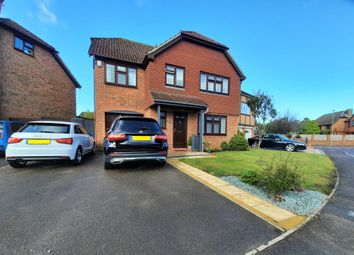 Thumbnail 4 bed detached house for sale in Meadow Avenue, Locks Heath, Southampton