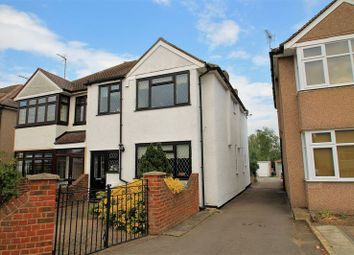 Thumbnail 4 bedroom semi-detached house for sale in Keith Avenue, Sutton At Hone, Dartford