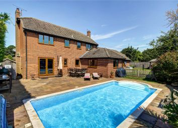 Thumbnail 4 bed detached house for sale in Worlds End, Beedon, Newbury, Berkshire