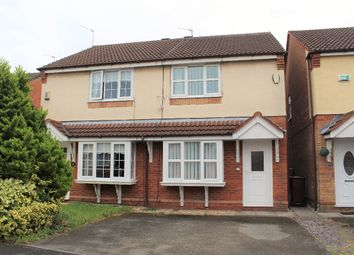 Thumbnail Semi-detached house for sale in Newark Close, Huyton, Liverpool