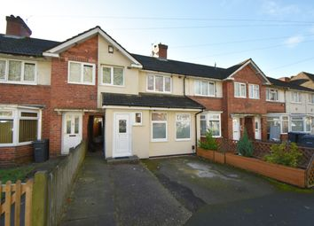 Thumbnail 4 bed terraced house for sale in Greenwood Avenue, Acocks Green, Birmingham