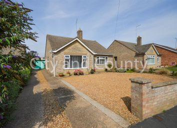 Thumbnail 3 bed detached bungalow for sale in Beauvale Gardens, Gunthorpe, Peterborough