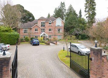 Thumbnail 2 bed flat for sale in Oatlands Chase, Weybridge, Surrey