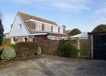 Thumbnail 4 bed semi-detached house for sale in Outerwyke Road, Felpham