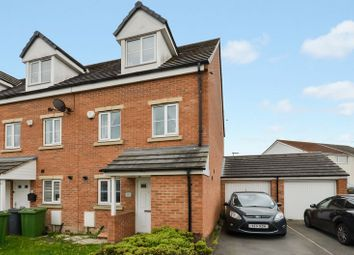 Thumbnail 3 bed town house for sale in 55 Whinmoor Way, Leeds