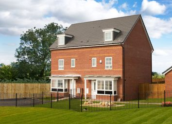 "Thumbnail 4 bedroom end terrace house for sale in ""Woodbridge"" at Station Road, Methley, Leeds"