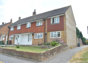 Thumbnail 3 bed semi-detached house for sale in Scotts Farm Road, West Ewell, Epsom