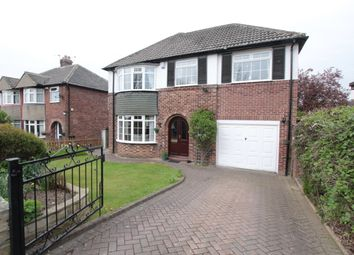 Thumbnail 4 bed detached house for sale in The Mount, Alwoodley, Leeds