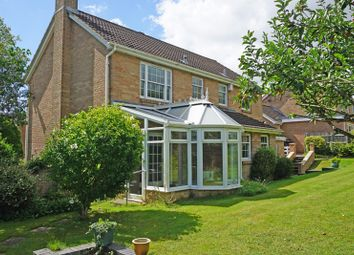 Thumbnail 4 bed detached house for sale in Goodworth Clatford, Andover, Hampshire