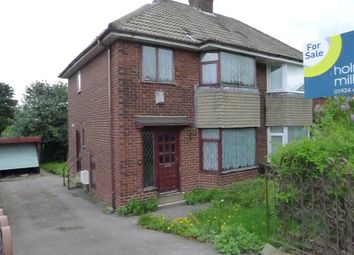 Thumbnail 3 bed semi-detached house for sale in Edge Lane, Thornhill, Dewsbury