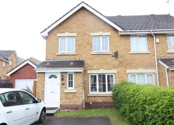 Thumbnail 3 bed semi-detached house for sale in Thorne Way, Culverhouse Cross, Cardiff