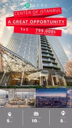 Thumbnail 3 bed apartment for sale in Ihome 85, Istanbul, Marmara, Turkey