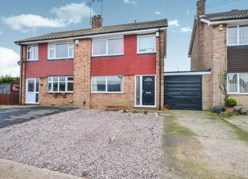 Thumbnail 3 bedroom semi-detached house for sale in Abbotts Croft, Mansfield, Nottinghamshire