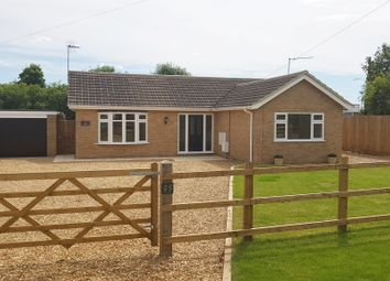 Thumbnail 3 bedroom detached bungalow for sale in Church Road, Emneth, Wisbech