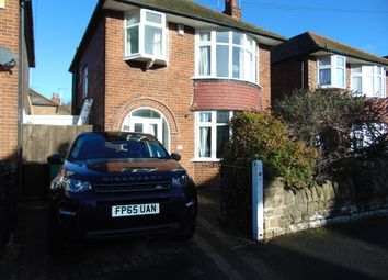 Thumbnail 3 bed detached house for sale in Russell Avenue, Wollaton, Nottingham