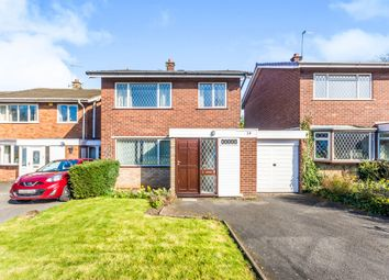 Thumbnail 3 bed detached house for sale in Leigh Close, Walsall