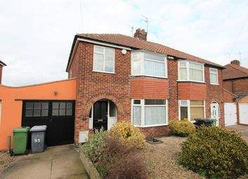 Thumbnail 3 bed semi-detached house to rent in Newland Park Drive, York