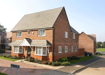 "Thumbnail 4 bedroom detached house for sale in ""Alnwick"" at Highfield, Froxhill Crescent, Brixworth, Northampton"