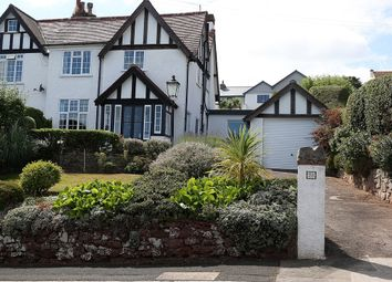 Thumbnail 4 bed semi-detached house for sale in Barnfield Road, Torquay