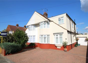 Thumbnail 5 bed semi-detached house for sale in Belmont Avenue, South Welling, Kent