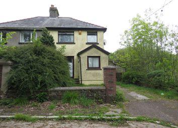 Thumbnail 2 bed semi-detached house for sale in Wern Fawr Road, Rhiwceiliog Pencoed, Bridgend