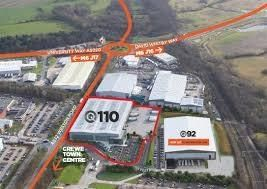 Thumbnail Industrial to let in Q1110, Weston Road, Crewe, Cheshire