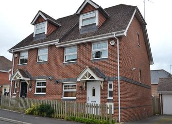 Thumbnail 3 bedroom semi-detached house to rent in Pinewood Crescent, Hermitage, Thatcham, Berkshire