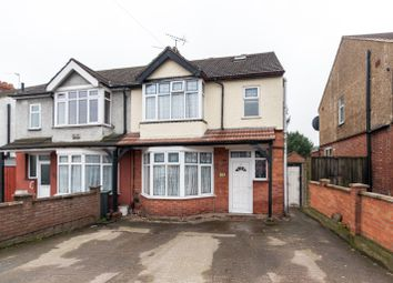 Thumbnail 4 bedroom semi-detached house for sale in Dunstable Road, Luton