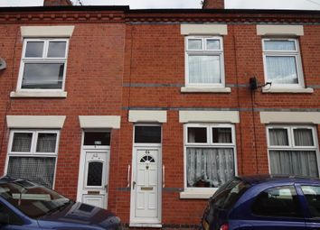 Thumbnail 3 bed terraced house for sale in Flax Road, Leicester, Leicestershire