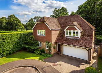 Thumbnail 4 bed detached house for sale in Spring Copse, Copthorne, Crawley