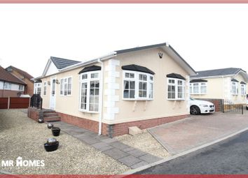 Thumbnail 2 bedroom mobile/park home for sale in Park Avenue, Cambrian Residential Park, Culverhouse Cross, Cardiff