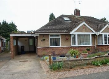 Thumbnail 2 bed semi-detached bungalow for sale in Southfield Road, Duston, Northampton