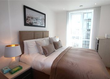 Thumbnail 2 bed flat to rent in Centurion Tower, Royal Gateway, London